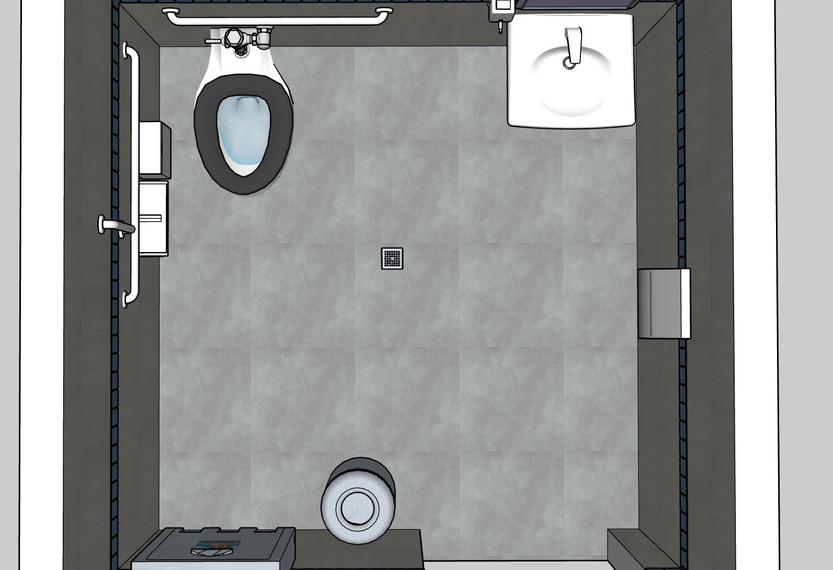 First Floor Restroom