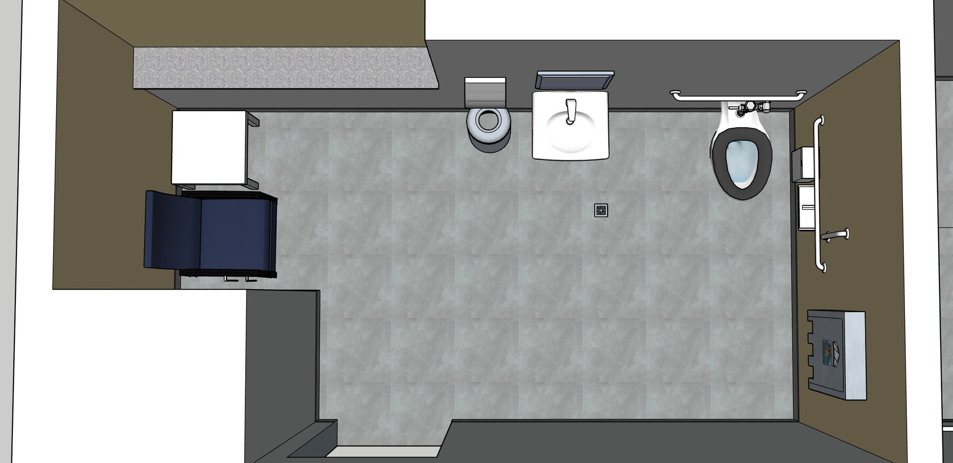 Third Floor Girls Restroom