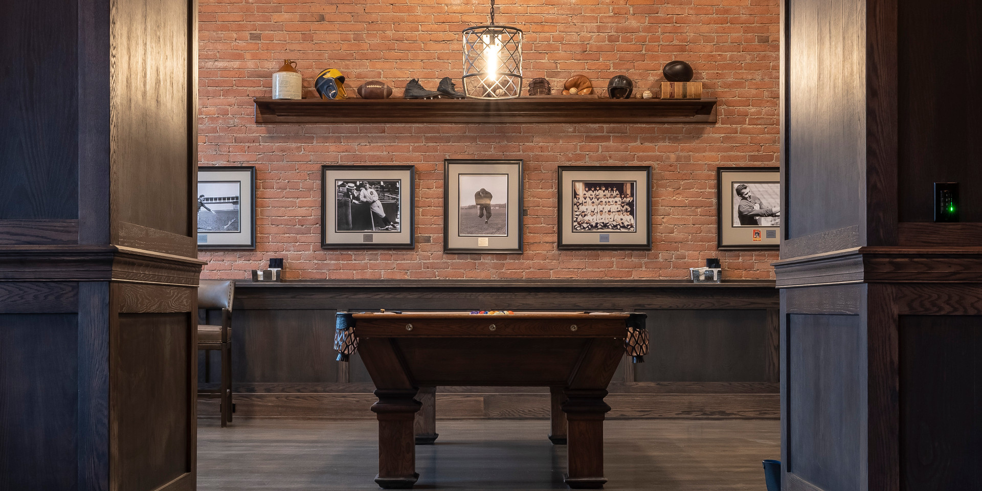 Private Cigar Lounge Pool Table