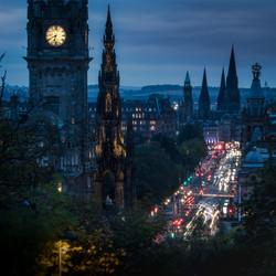 6:40 pm at Edinburg