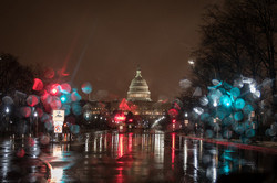 Rainy Day On Washington D.C