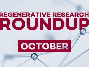 Regenerative Research Roundup - October 2021