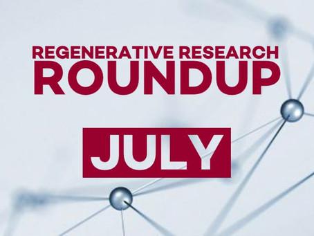 Regenerative Research Roundup - July 2021