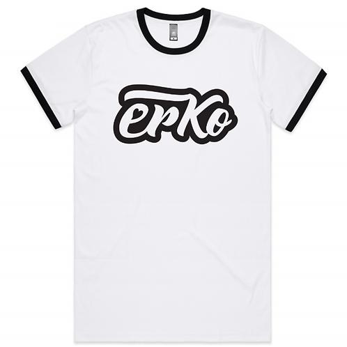 Love Erko men's ringer tee