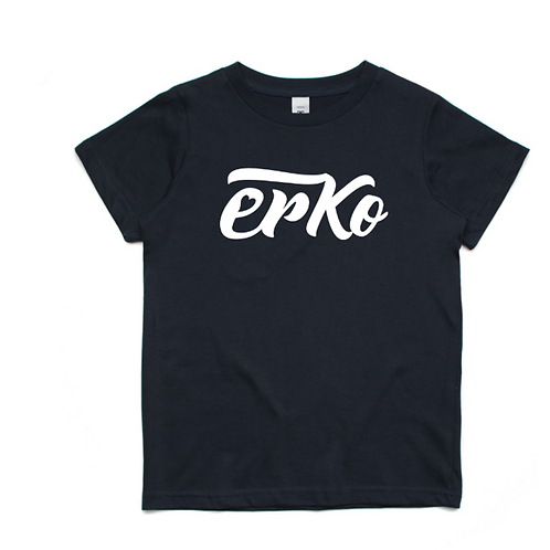 Love Erko kids' navy tee