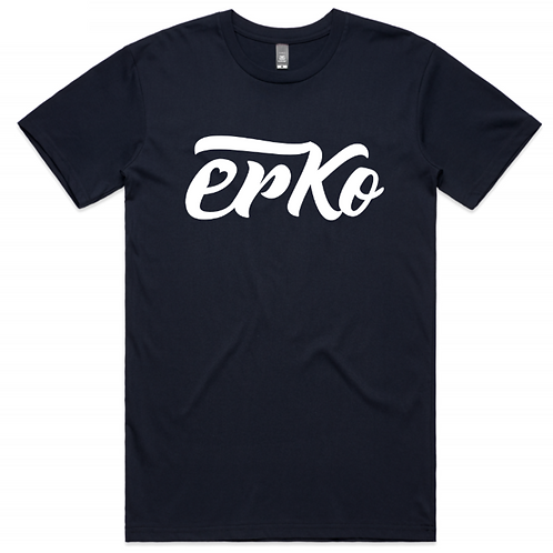 Love Erko men's navy tee