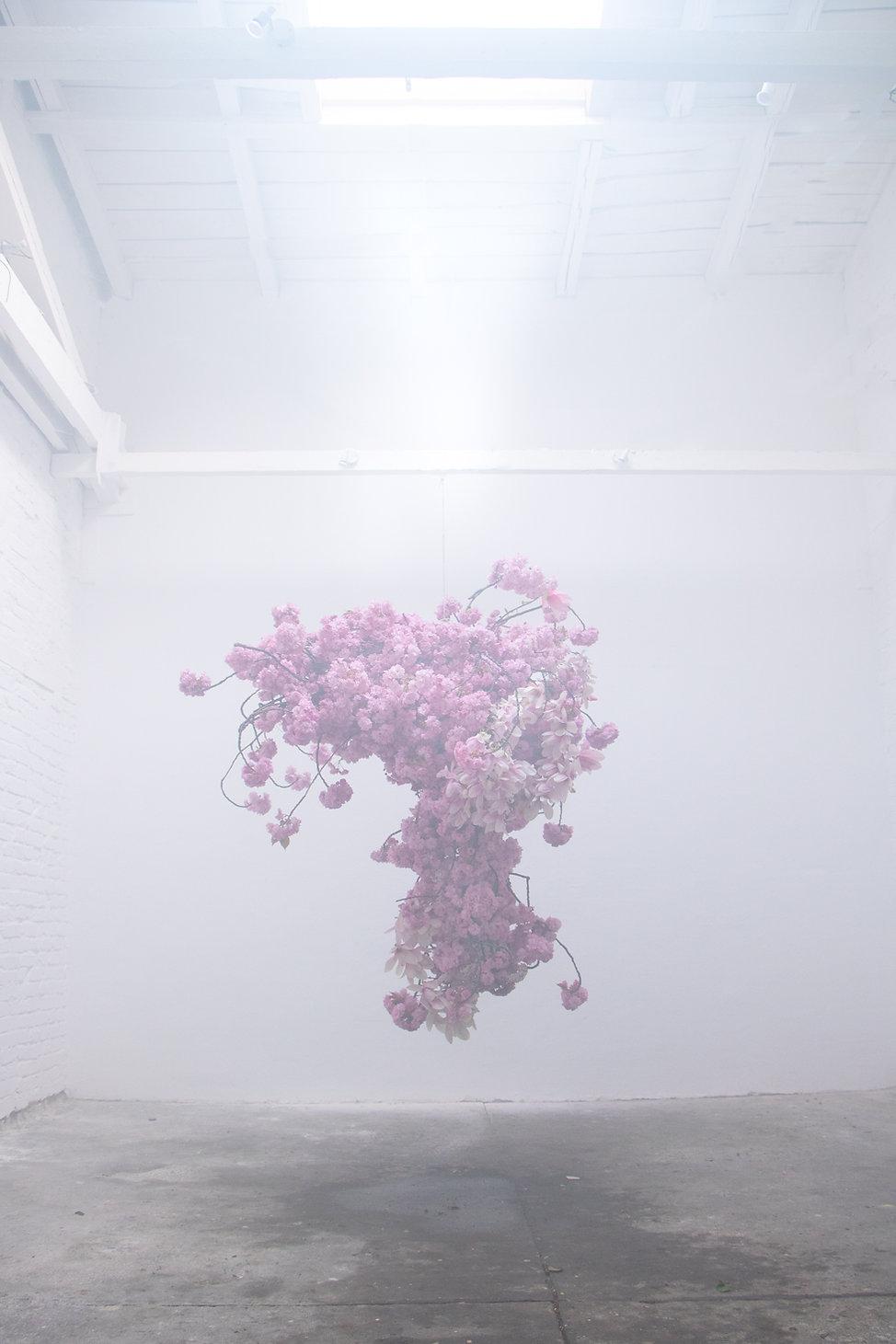 Floral Installation by Carolin Ruggaber