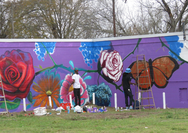 Wall #51 MLK Day Festival of Service