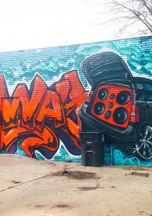 Wall #104 MLK Festival of Service 2019: Mural #3