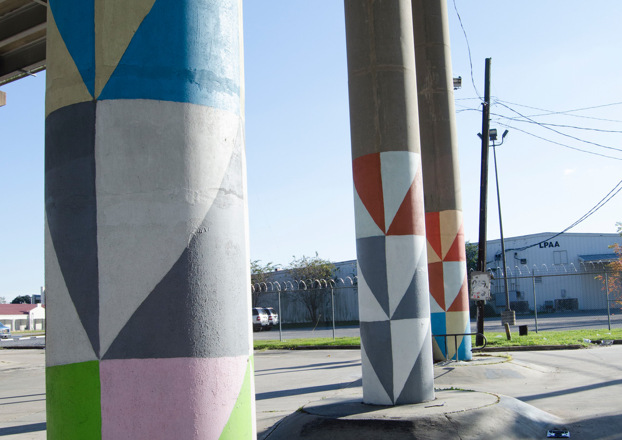 Wall #20 Nicholson Drive pillars