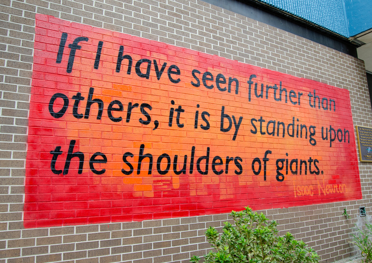 Wall #21 On the Shoulders of Giants