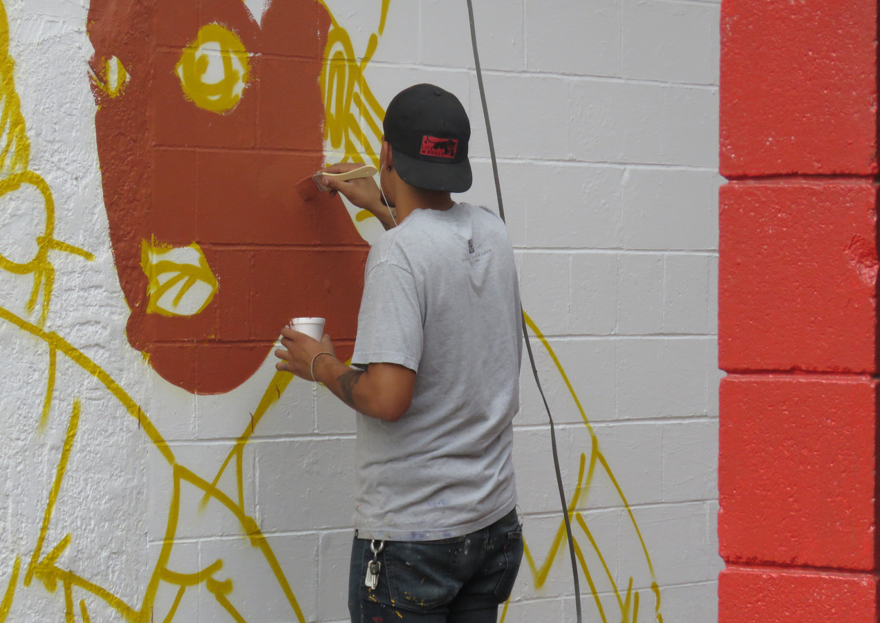 Wall #58 MLK Day Festival of Service