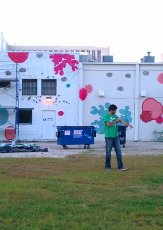 Wall #05 Pink Bubblegum Dragon (NO LONGER THERE)