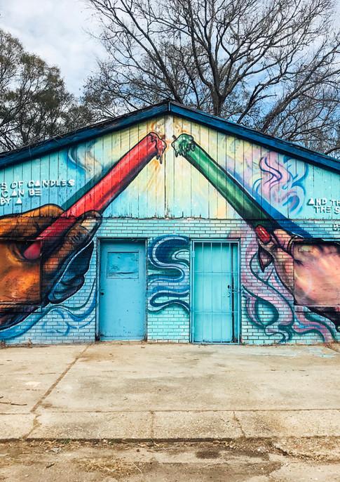 Wall #102 MLK Festival of Service 2019: Mural #3