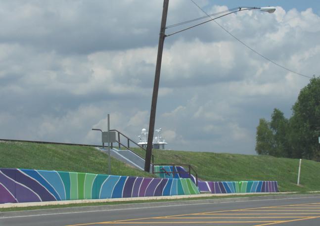 Wall #121 River Road Waves