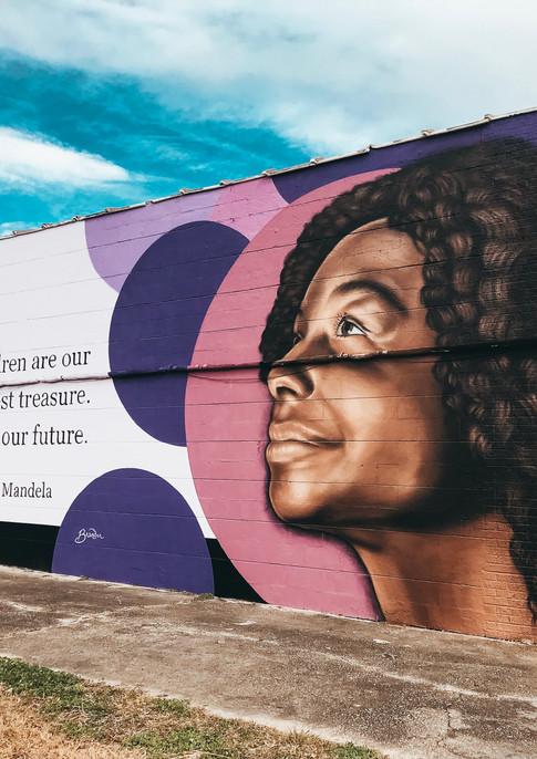 Wall #105 MLK Festival of Service 2019: Mural #5