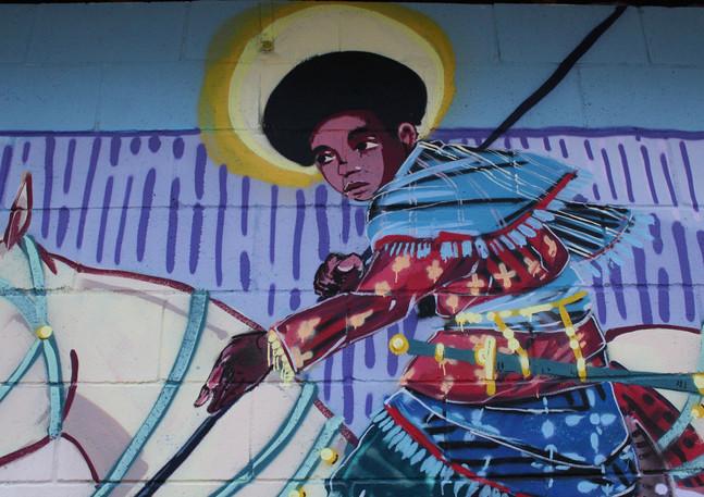 Wall #117 MLK Festival of Service 2019: Mural #17