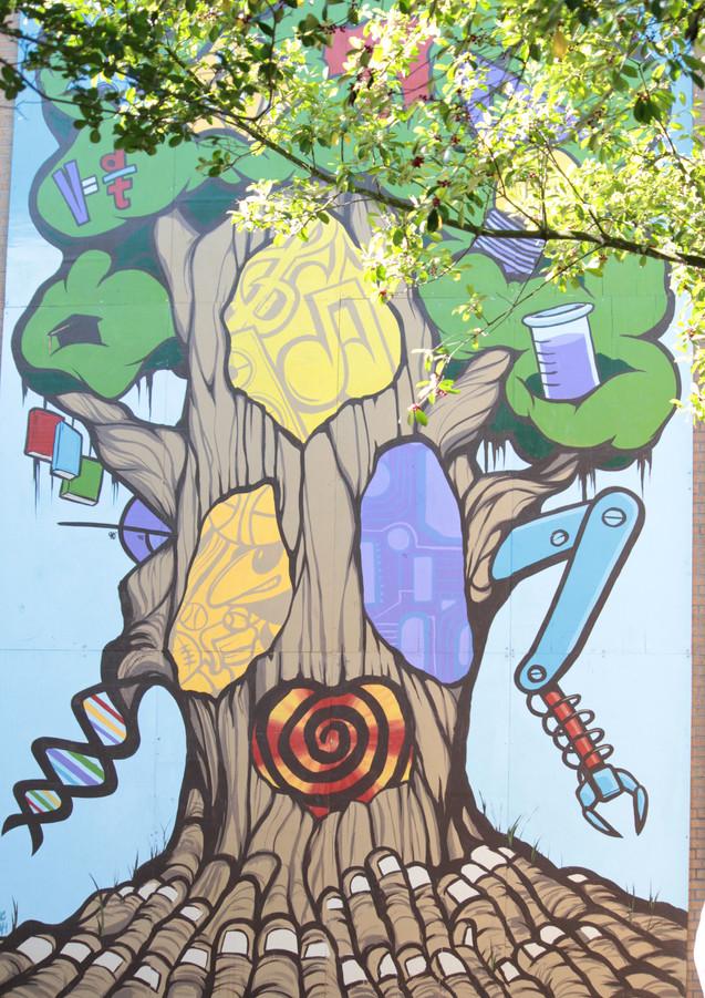 Wall #59 Leaving the Leaf on STEM