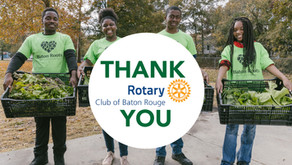 With Rotary Club grant, Baton Roots moves forward with increasing healthy food access in north Baton