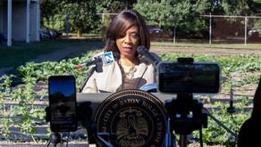 Mayor Broome Announces a Community Farm at Capitol High School
