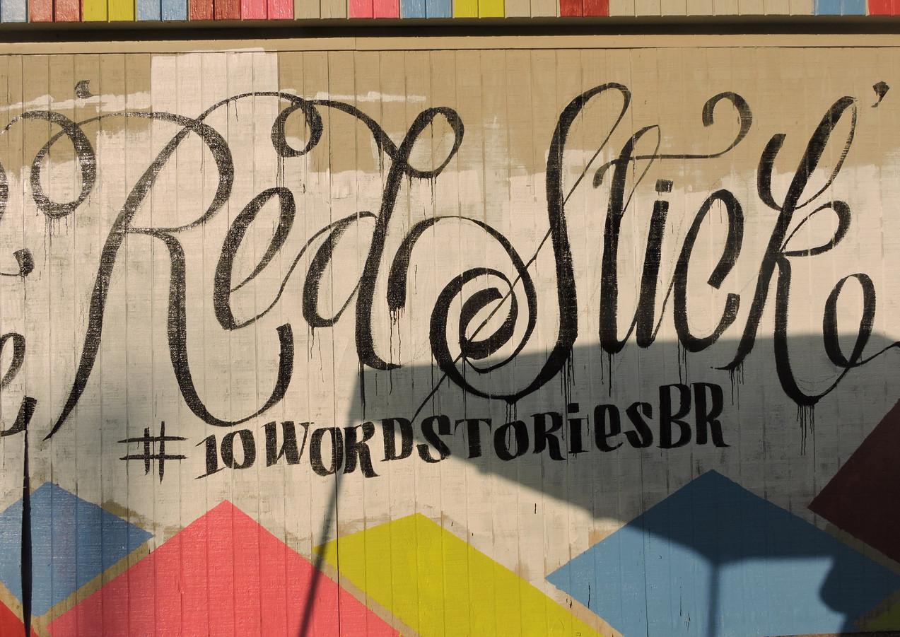 Wall #47 #10WordStoriesBR