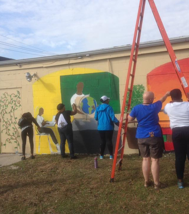 Wall #55 MLK Day Festival of Service