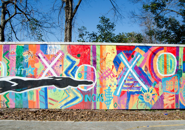 Wall #15 Canyon of Color
