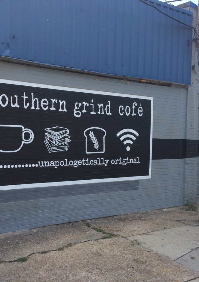 Wall #94 Southern Grinds Cofe