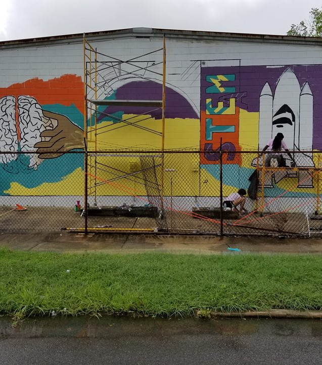 Wall #63 #LoveBR Youth Summer Murals