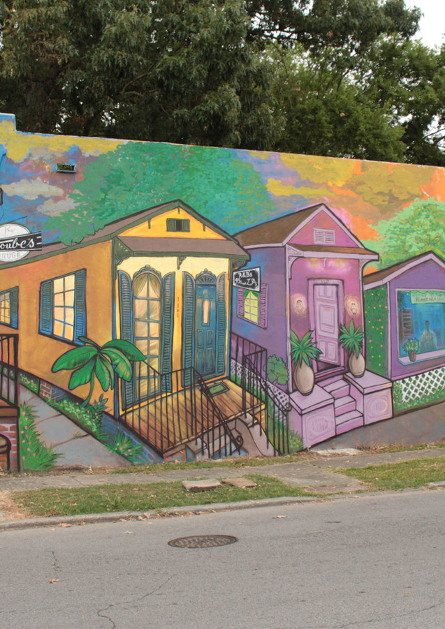 Wall #118 Welcome to Old South Baton Rouge