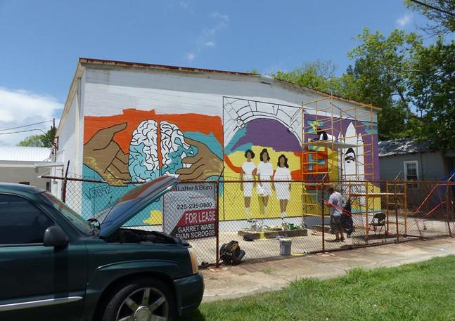 Wall #63 #LoveBR Youth Summer Murals