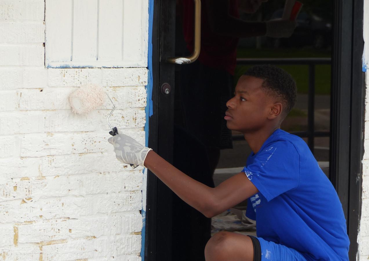 Wall #64 #LoveBR Youth Summer Murals