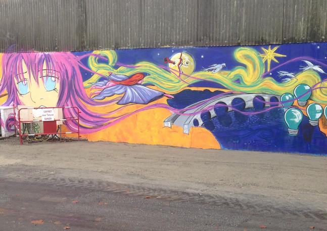 Wall #9 Art Project Redon-Louisiana