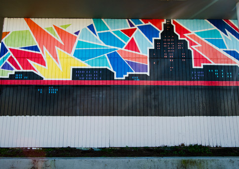 Wall #31 MLK Day of Service: Murals on Main #1