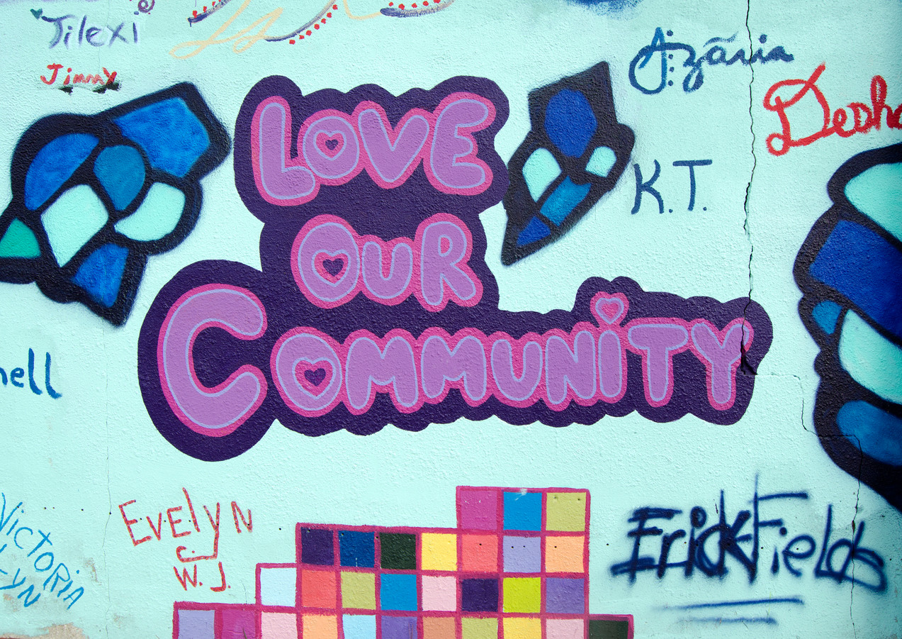 """Wall 08 """"Love Our Community"""" Summer Youth Employment Program"""