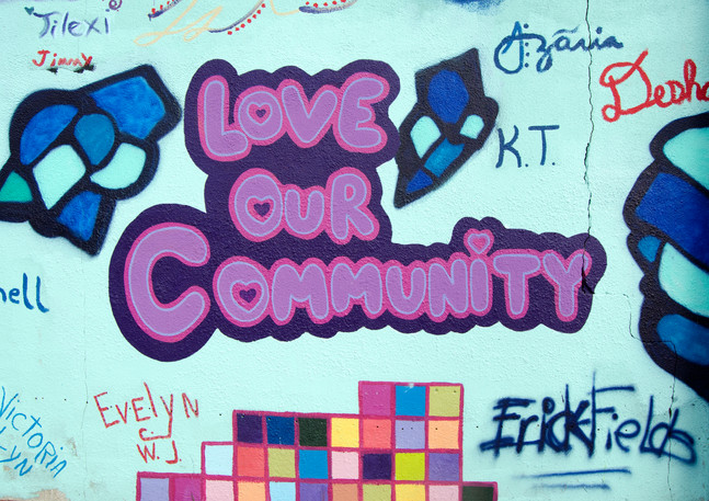 "Wall 08 ""Love Our Community"" Summer Youth Employment Program"