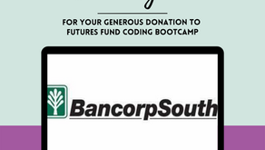 BancorpSouth grants The Walls Project $1,500 for Futures Fund Coding Bootcamp