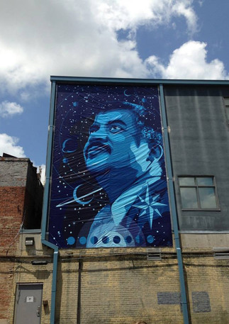 Wall #07 SCIENCE – Tribute to Neil deGrasse Tyson (NO LONGER THERE)