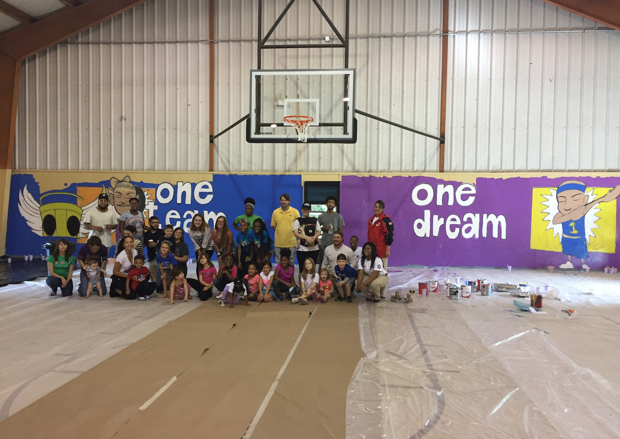 Wall #45 One Team, One Dream