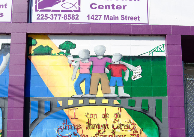 Wall #33 MLK Day of Service: Murals on Main #3