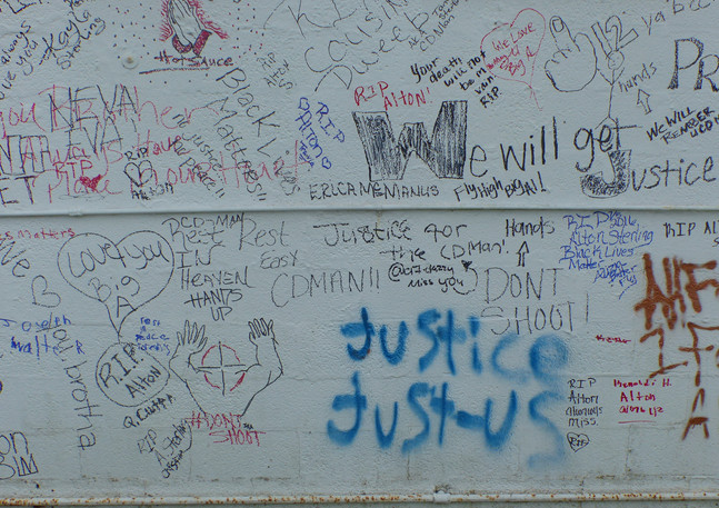 Wall #44 Living Wall for Alton Sterling