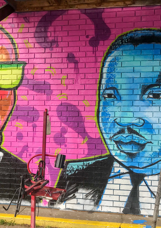 Wall #107 MLK Festival of Service 2019: Mural #7