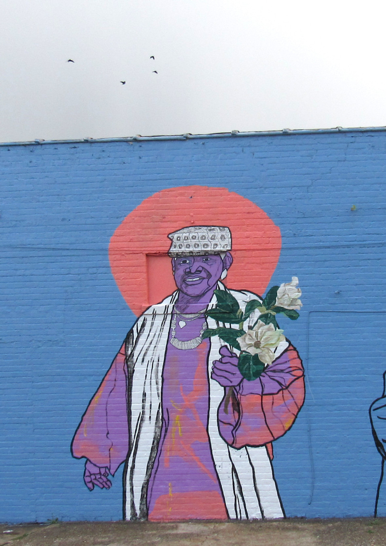 Wall #119 Honoring Sadie Roberts-Joseph