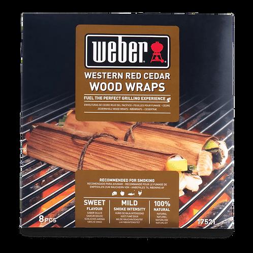 Wood Wraps 8 Stück aus Zedernholz