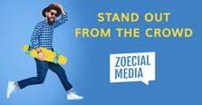 Zoecial Media social graphic