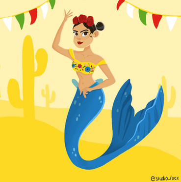 Cinco de Mayo Mermay Mermaid