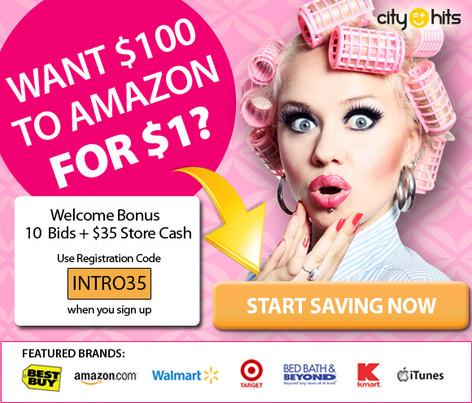 City Hits banner ad