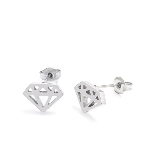 Jewel Stud Earrings