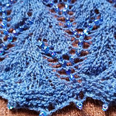 Knitted, Beaded Lace Shawl.jpg