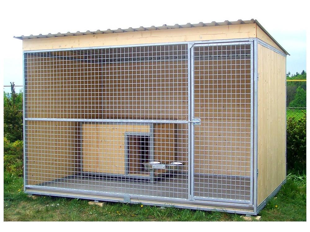 Pokud hledáte psí boudu vhodnou do kotce, za nás doporučujeme naši boudu JESPER.